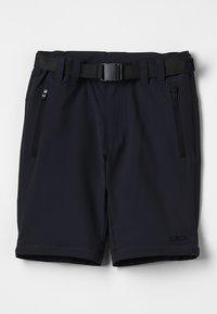 CMP - BOY ZIP OFF 2-IN-1 - Outdoor trousers - antracite - 2