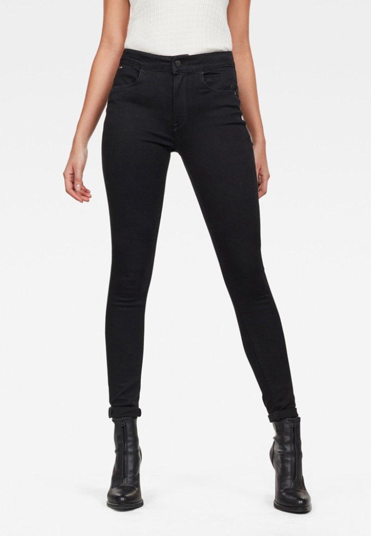 G-Star - HIGH  - Jeans Skinny Fit - black