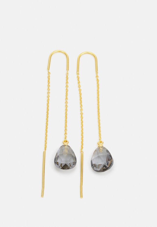 EVE DROPLET EARRINGS - Náušnice - grey