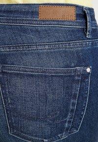 edc by Esprit - Slim fit jeans - blue dark wash - 4