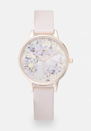 ABSTRACT FLORALS - Montre - pink