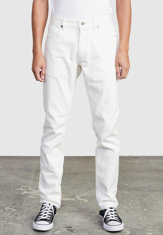 Jean slim - off white