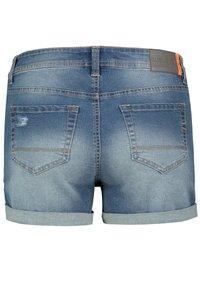 Sublevel - Denim shorts - dark-blue - 5