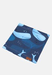 Walkiddy - LOOP SMILING WHALES - Snood - dark blue - 0