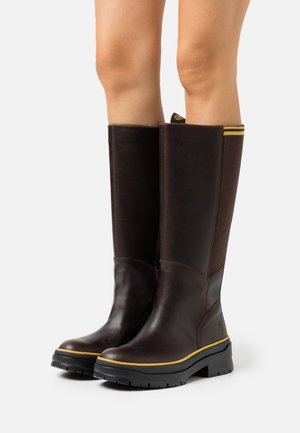 MALYNN TALL BOOT WP - Plateaustiefel - mid brown