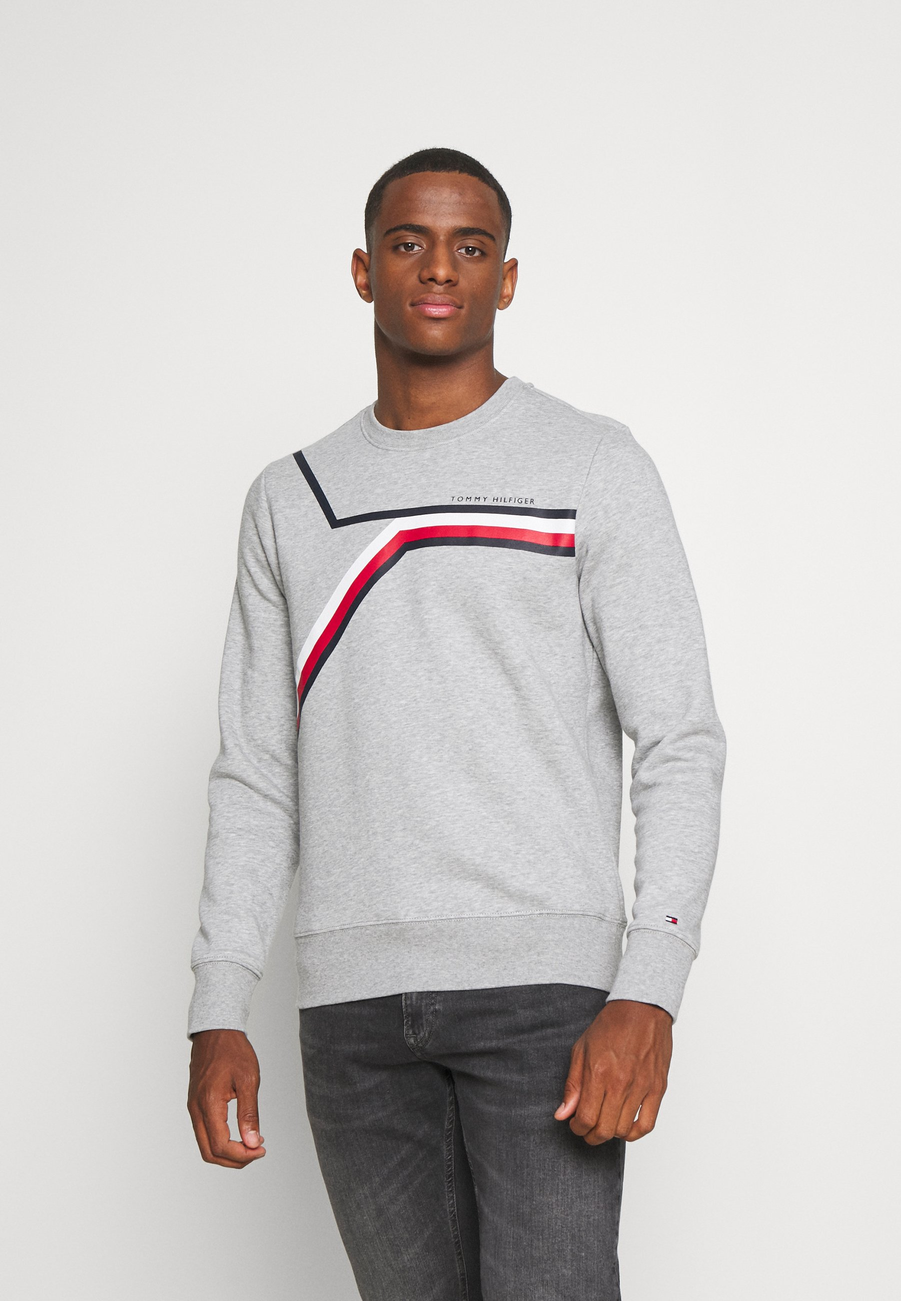 Men SPLIT CORP STRIPE CREWNECK - Sweatshirt