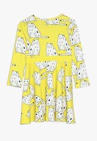 igi natur - LONG DRESS - Jerseykjoler - yellow - 1