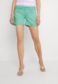 Pepe Jeans - SIOUXIE - Denim shorts - jetty - 0
