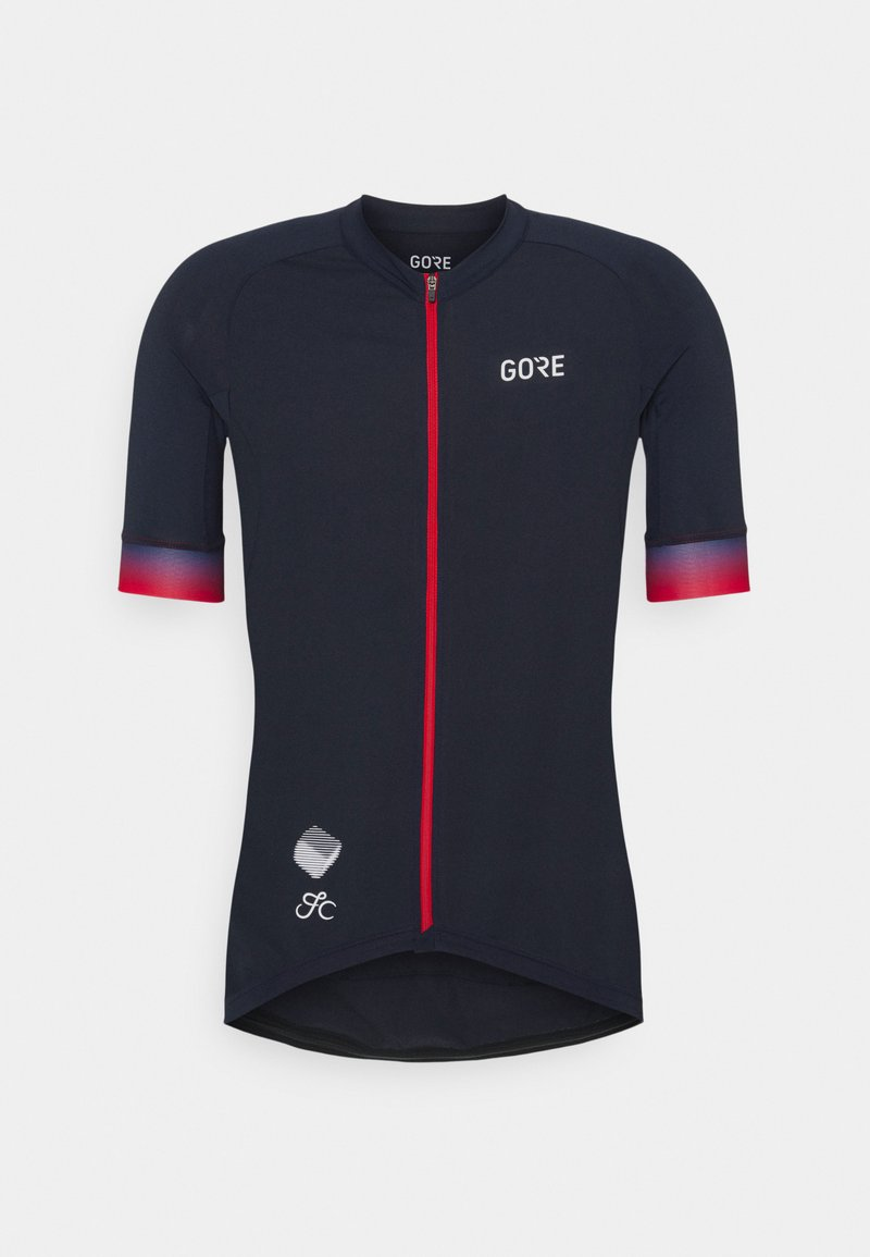 Gore Wear - CANCELLARA MENS - T-Shirt print - orbit blue/red