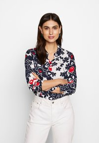 Barbara Lebek - Button-down blouse - navy/red/offwhite - 0