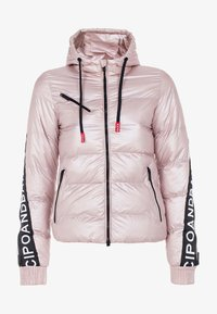 Cipo & Baxx - MIT WÄRMENDER KAPUZE - Winter jacket - pinksilver - 5
