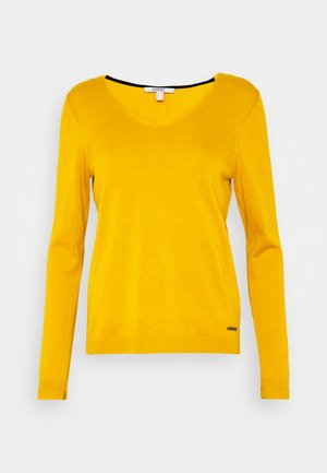 Sweter - brass yellow