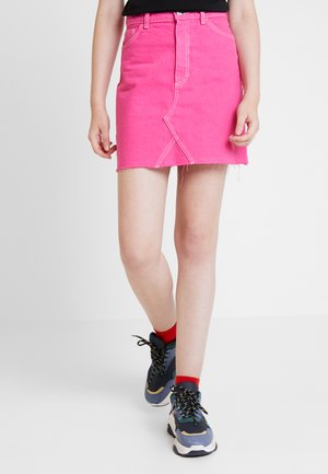 ARIA SKIRT ONLINE UNIQUE - Áčková sukně - hot pink