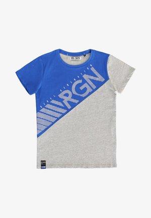 Print T-shirt - princess blue