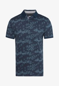 WE Fashion - WE FASHION HEREN POLO MET DESSIN - Poloshirt - blue - 5
