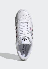 adidas Originals - CONTINENTAL 80 STRIPES UNISEX - Tenisky - footwear white/collegiate navy/vivid red - 1