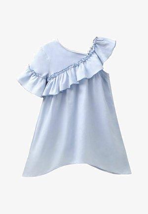 Koktejlové šaty/ šaty na párty - light blue