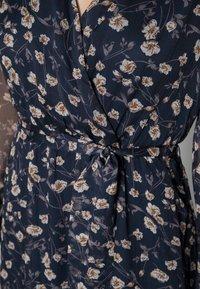Vila - VIALVIA ANKLE DRESS - Maxi dress - navy blazer - 4
