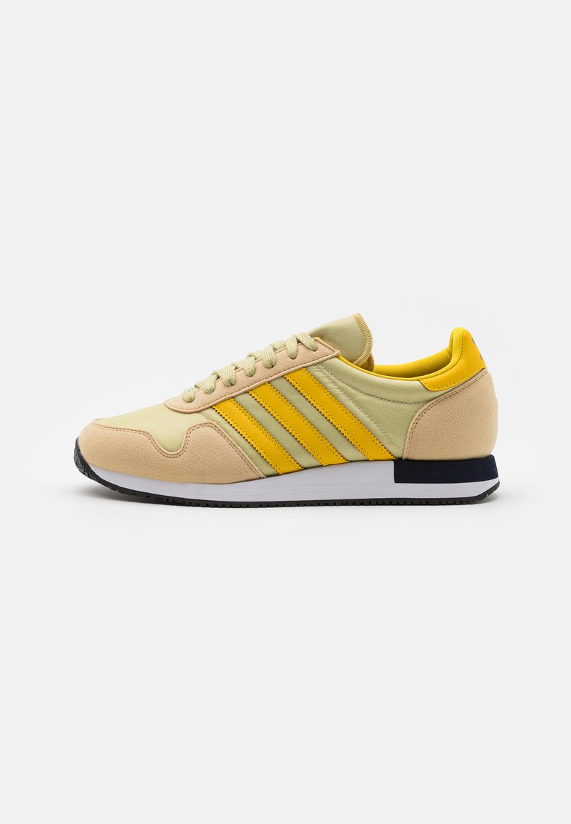 adidas Originals - USA 84 UNISEX - Sneakers basse - hazy beige/hazy yellow/halo gold