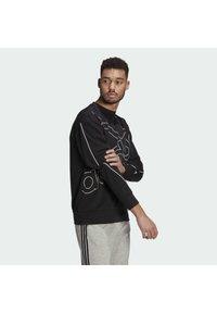 adidas Performance - GIANT LOGO SWEATSHIRT (GENDER NEUTRAL) - Felpa - black - 2