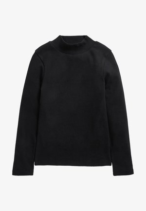 HIGH NECK - Sweater - black