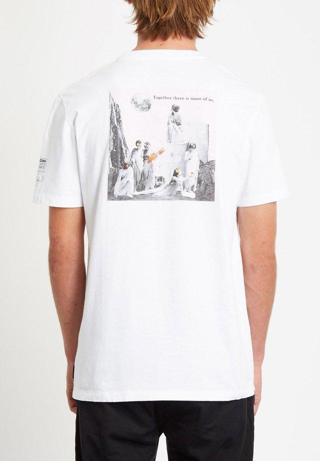 SCHNIPS SCHNIPS FA SS - T-shirt print - white