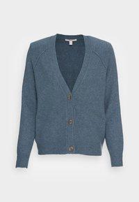 Esprit - BUTTONED CARDIGAN - Cardigan - grey blue - 3