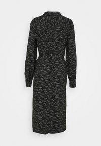 Bruuns Bazaar - FLORET GARDENIA DRESS - Shirt dress - black - 1