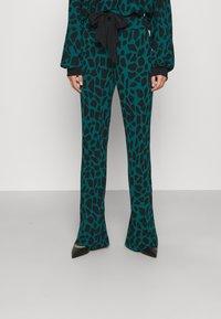 Diane von Furstenberg - CASPIAN PANTS - Trousers - medium teal - 0
