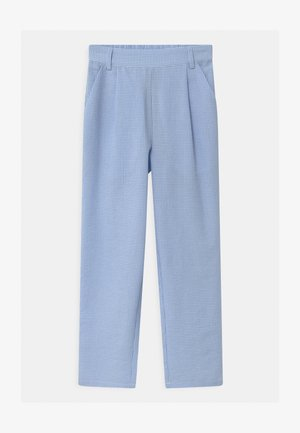 LIV CHECK - Trousers - light blue