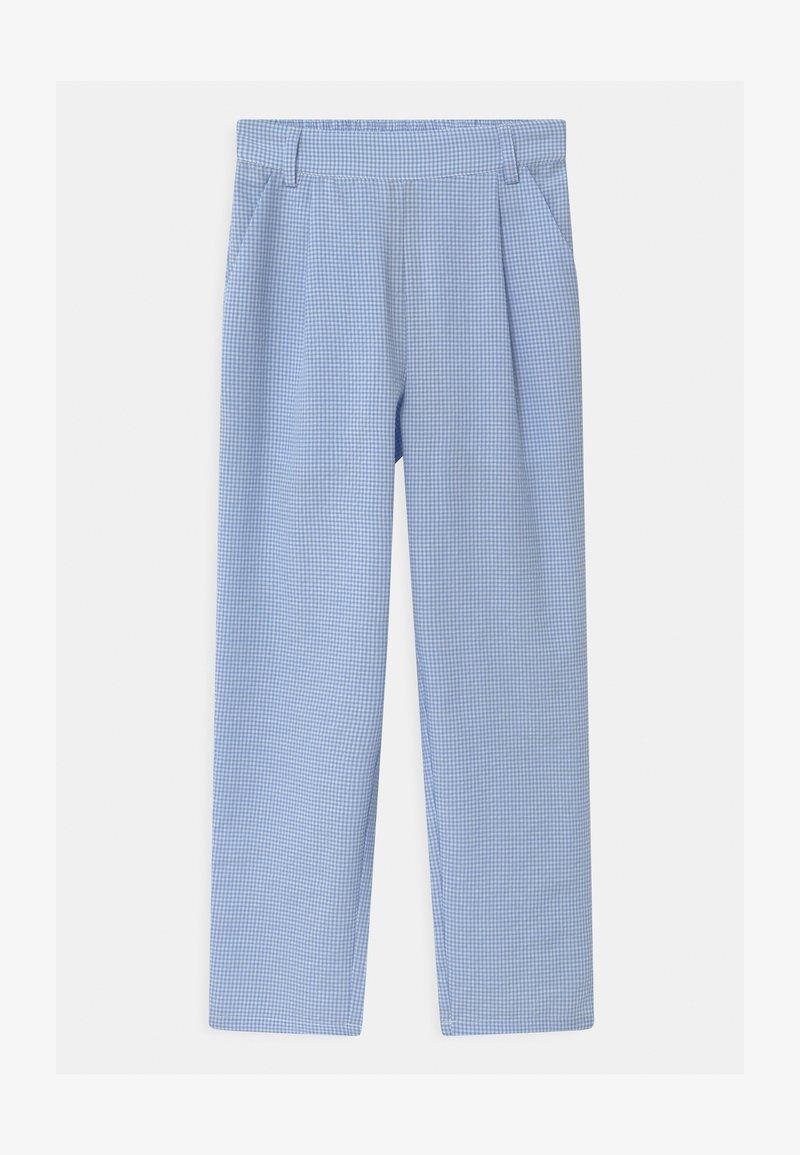 Grunt - LIV CHECK - Trousers - light blue