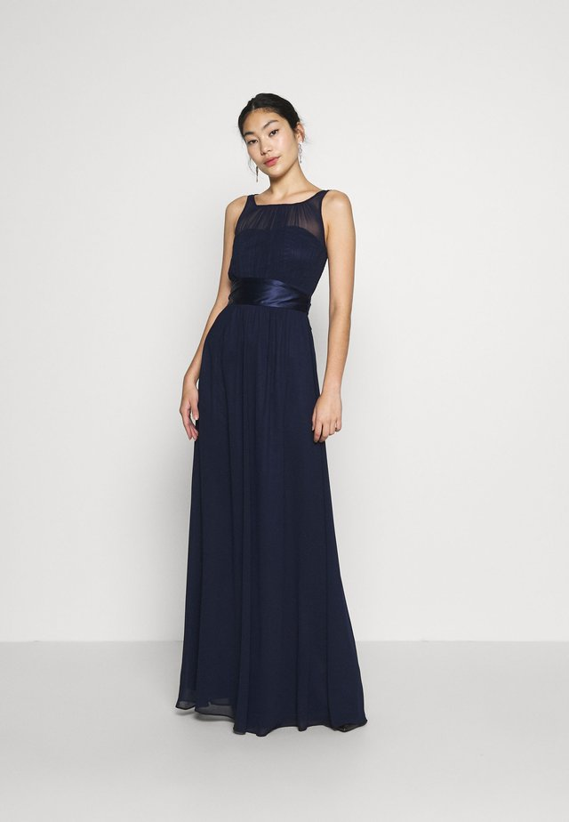 NATALIE MAXI DRESS - Galajurk - navy