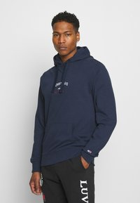 Tommy Jeans - TIMELESS HOODIE UNISEX - Sweat à capuche - twilight navy - 0