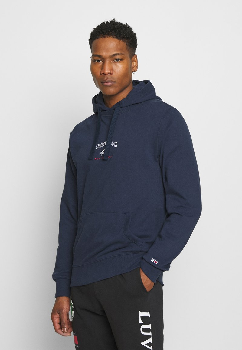 Tommy Jeans - TIMELESS HOODIE UNISEX - Sweat à capuche - twilight navy