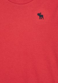 Abercrombie & Fitch - CREW 3 PACK  - Print T-shirt - blue/white/red - 5