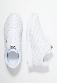 Tommy Jeans - PRINT CITY - Sneakers - white - 1