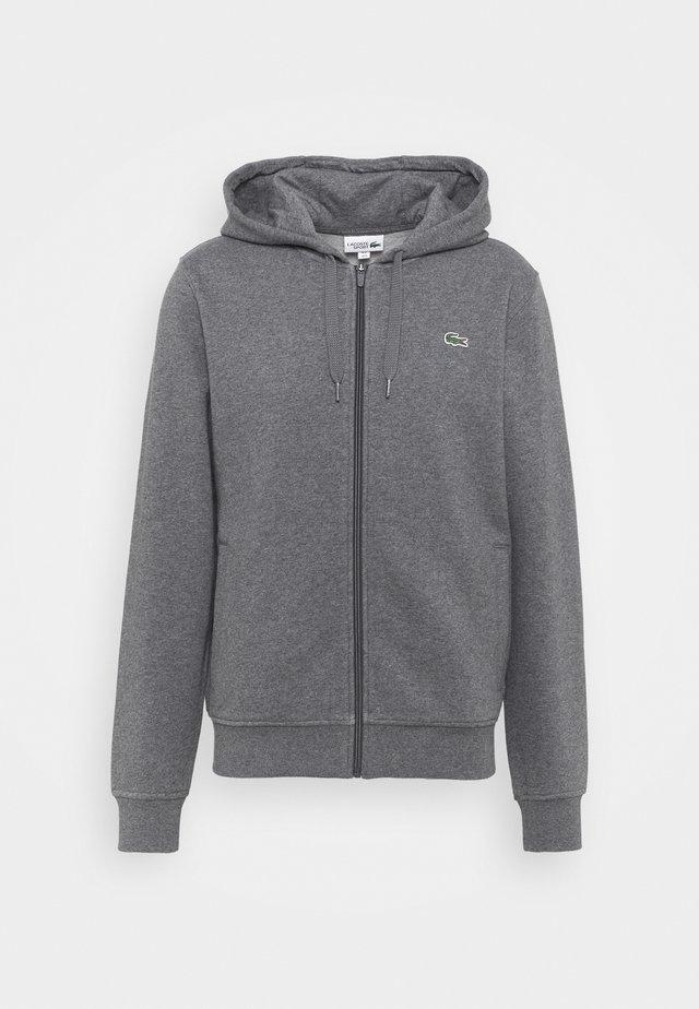 CLASSIC HOODIE - veste en sweat zippée - pitch chine/graphite sombre