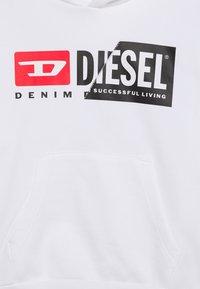 Diesel - SGIRKHOODCUTY OVER F - Sweatshirt - bianco - 2