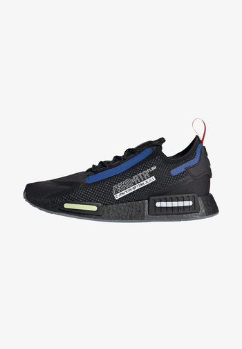 NMD_R1 SPECTOO UNISEX - Sneakers basse - core black/yellow tint