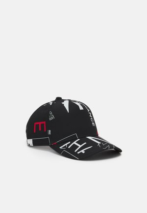 BASEBALL ALLOVER UNISEX - Cap - black
