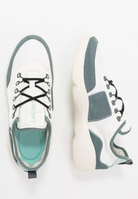 Lacoste - SUBRA IMPACT - Tenisky - offwhite/green - 1