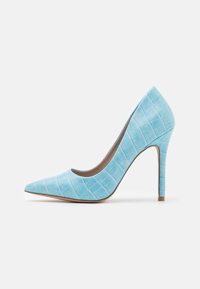 CATERINA - Tacones - blue