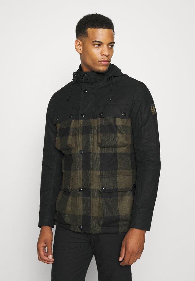 HIKE JACKET - Light jacket - salvia/black