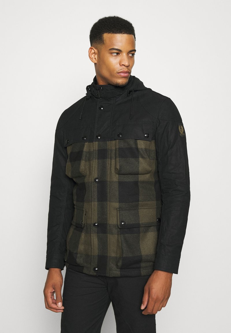 Belstaff - HIKE JACKET - Light jacket - salvia/black