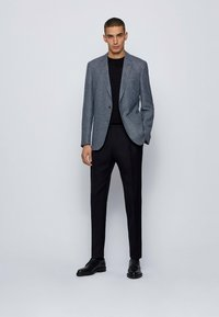 BOSS - Blazer jacket - open blue - 1