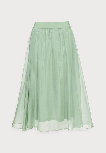 CORAL SKIRT - Áčková sukně - basil