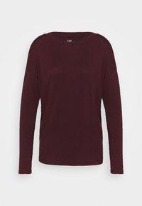 GAP - LUXE - Maglietta a manica lunga - pinot noir - 4