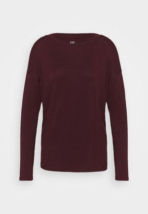 LUXE - T-shirt à manches longues - pinot noir