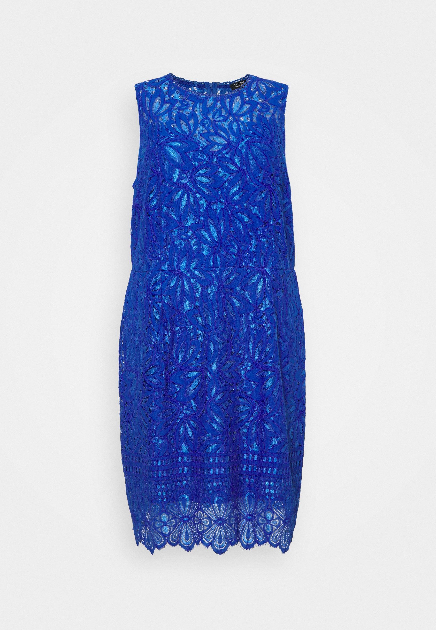 Capsule By Simply Be Dress Cocktailkleid Festliches Kleid Cobalt Blau Zalando De