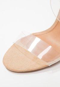 Steve Madden - CLEARER - High Heel Sandalette - clear - 4